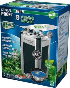 JBL CristalProfi E1502 Aquariumfilter - 1400 L/H - 20 x 23 x 48 cm