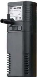 Sunsun hj-311B - 2W 300L/H aquarium binnen filter 36x44x133mm