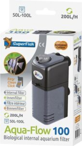 SuperFish AquaFlow Dual Action 100 - Aquariumfilter - 200 L/H<