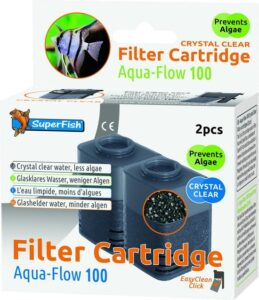 SuperFish Filtercartridge Aqua-Flow 100 met zeoliet