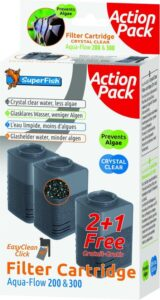 Superfish Aqua-Flow 200 en 300 - Aquariumfilter - 3 stuks