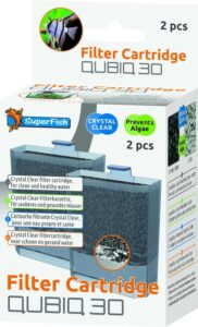 Superfish Cartridge Qubic 30 - Aquariumfilter - 2 stuks<