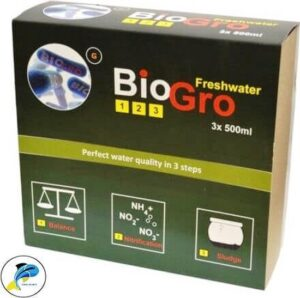 Bacteriën DvH Aquatics BioGro 123 Freshwater 3 x 500 ml