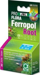 Jbl Ferropol root Mesttabletten voor krachtige plantenwortels in het aquarium